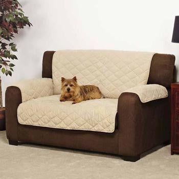 Slumber Pet Daydreamer Couch Cover   Khaki