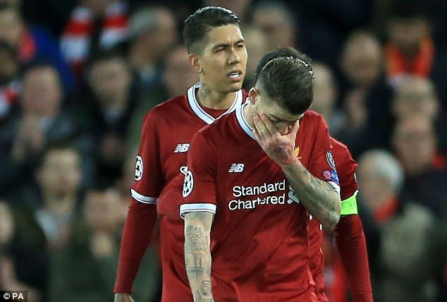 Alberto Moreno appeared to be devastated as he was forced off with an ankle injury