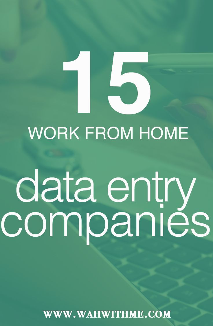 Data Entry Work at Home Job Opportunities, work at home jobs, remote jobs, make money online, Telecommute, online jobs, work online, non-phone work at home jobs, remote data entry jobs, remote non-phone work at home jobs, at home jobs http://www.wahwithme.com/15-companies-hire-remote-data-entry-clerks/