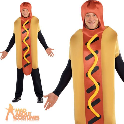 Adult hot #diggity dog costume funny food #fancy dress sausage #outfit new,  View more on the LINK: 	http://www.zeppy.io/product/gb/2/151763793410/