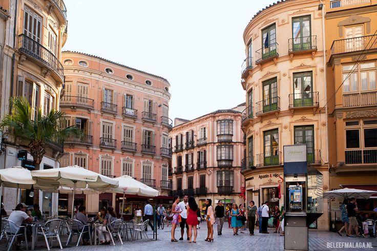 Streetview Calle  in Málaga.  #Malaga #Spanje
