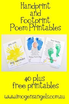 sport shoes outlet Imogen  39 s Angels Handprint and Footprint printables These would make lovely gifts for grandparents too