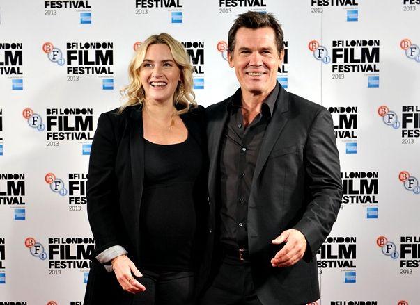 Kate Winslet y Josh Brolin en el BFI