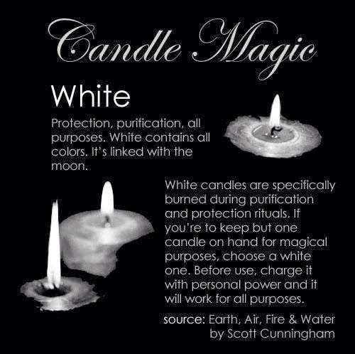 Candles: #Candle Magic ~ White.                                                                                                                                                                                 More