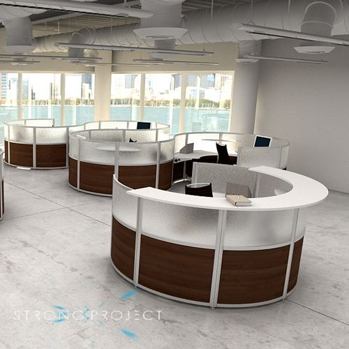 Modern Office Furniture Reception Desk Impressive Inspiration