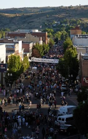 Klamath Falls Downtown  - Third Thursday Street Fair - my parents go almost every time