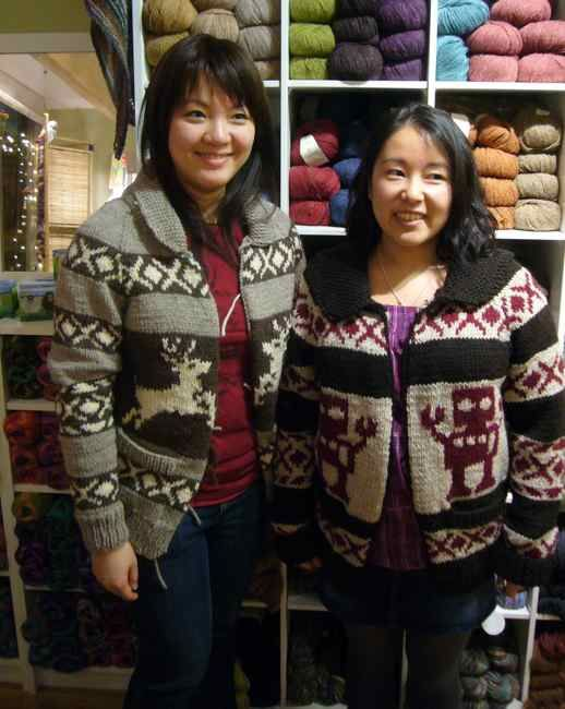 OMG! A Robot Cowichan Sweater!?! MUST KNIT ONE...