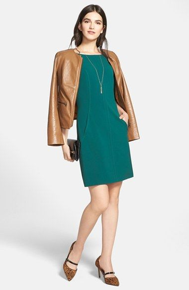Tahari A-Line Dress & Accessories available at #Nordstrom