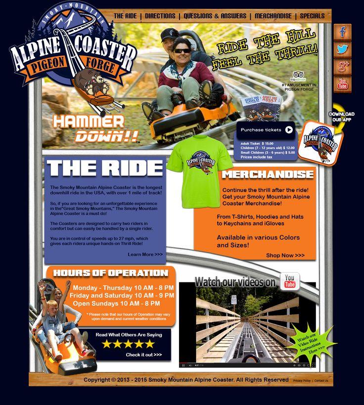mountain coaster coupon gatlinburg