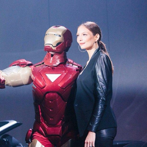 Check out #Ironman and @Ricki-Lee Coulter at #EkkaLaunch13! They both will be performing in the #Ekka Ignites 360 finale - we are so excited!