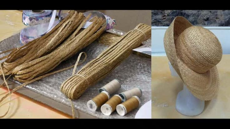 19th Century Stitch Straw Hat Making with Theatrical Hatter, Jane Smith