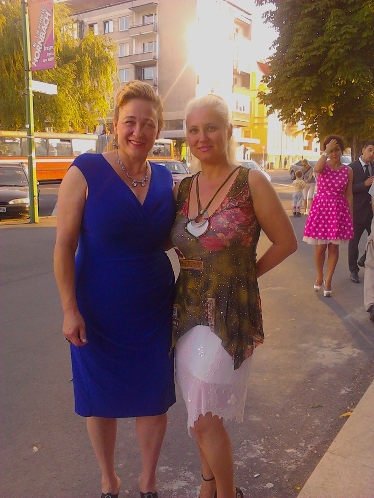 Susan Johnston and Friend from Brasov, Romaina.