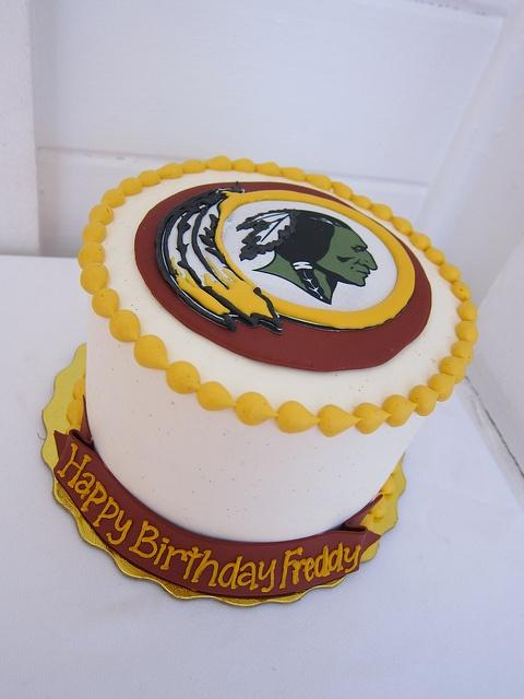 #Redskins birthday cake.