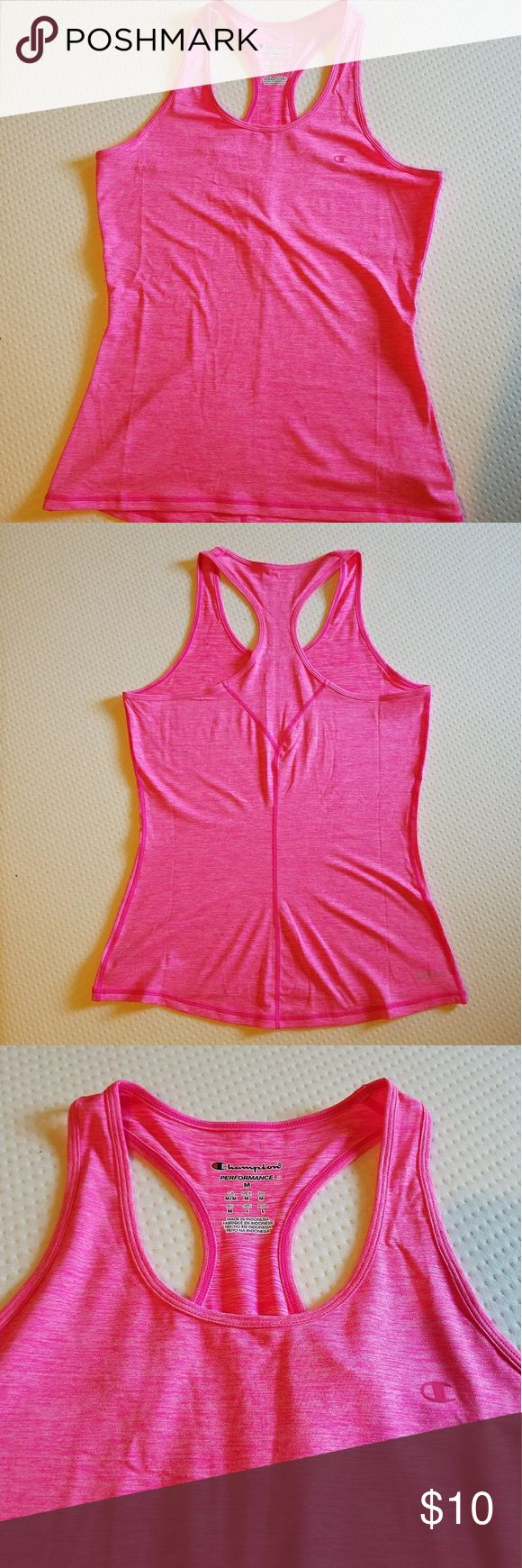 ☆2 for $15☆ Champion Workout Tank Hot pink workout tank. Never worn! Size medium. Champion Tops Tank Tops