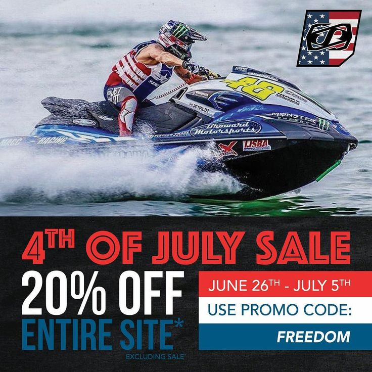 """53 Likes, 3 Comments - JETPILOT (@jetpilotusa) on Instagram: """"The JetPilot USA 4th of July SALE is still going strong! Stock up for the summer now! 🇺🇸💥 Link in…"""""""