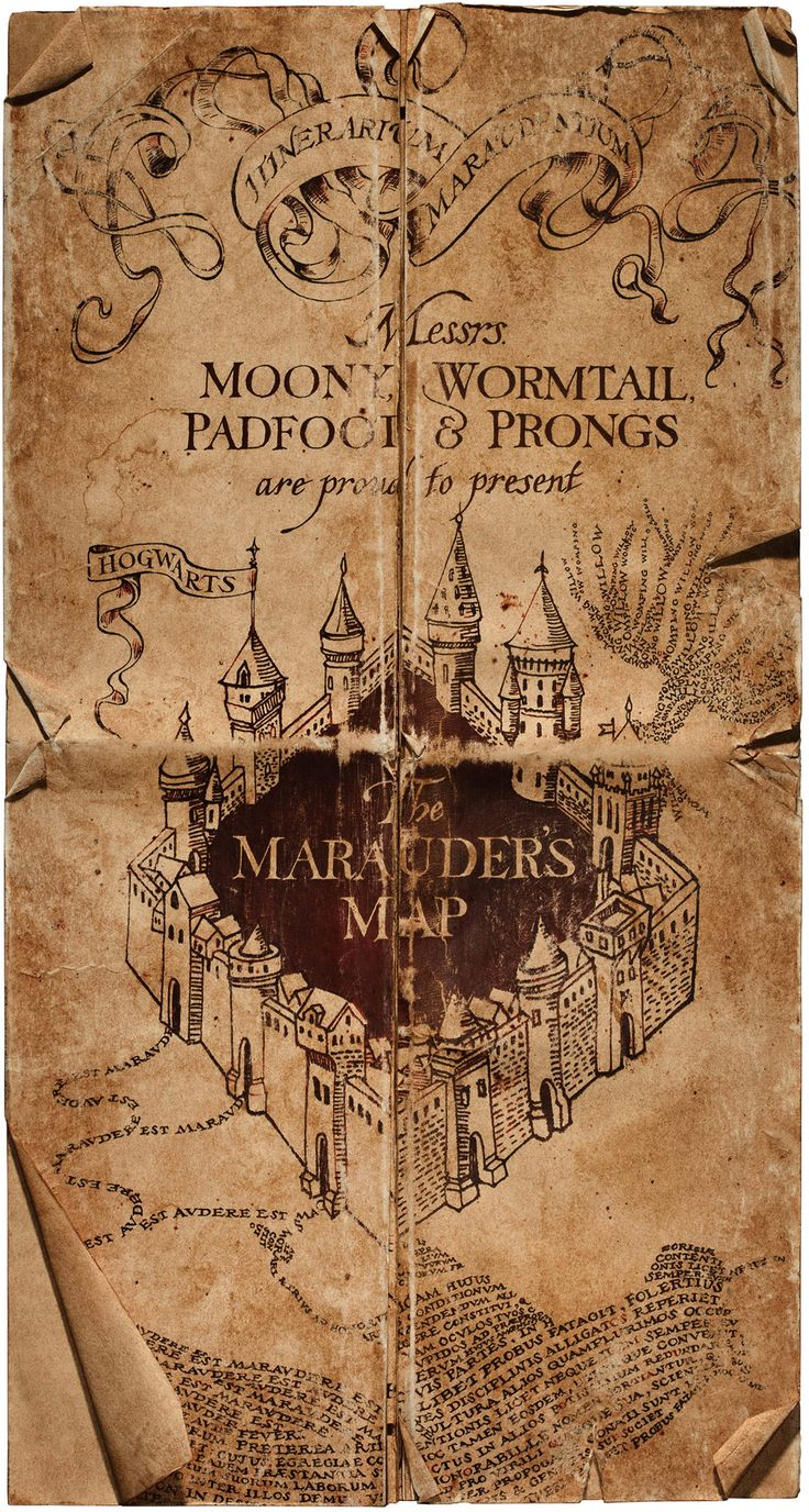 All about the Marauder's Map  #harrypotter                                                                                                                                                                                 Plus