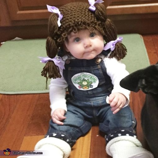 Baby Cabbage Patch Doll - Halloween Costume Contest via @costume_works