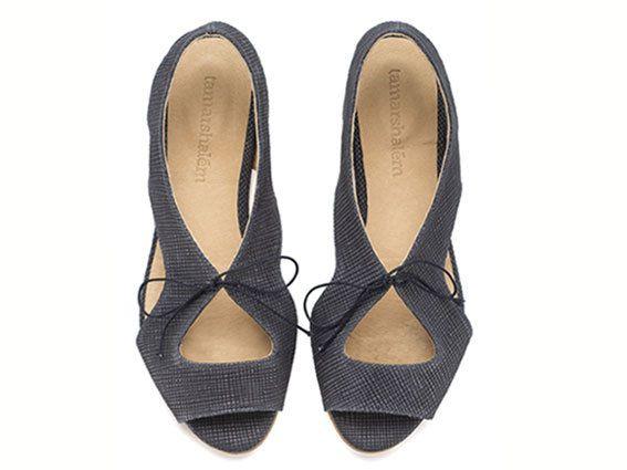 Lola Navy Sandals Leather Sandals by TamarShalem on Etsy, $159.00