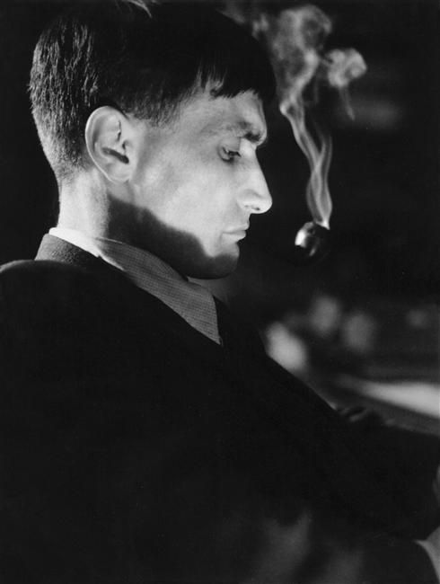Antonin Artaud.  I have never come across this photo of him in my research.  Look how short his hair is...
