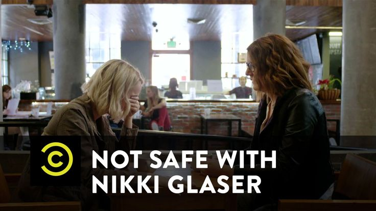 Not Safe with Nikki Glaser - Comedians Sitting on Vibrators Getting Coffee - This is SO funny!