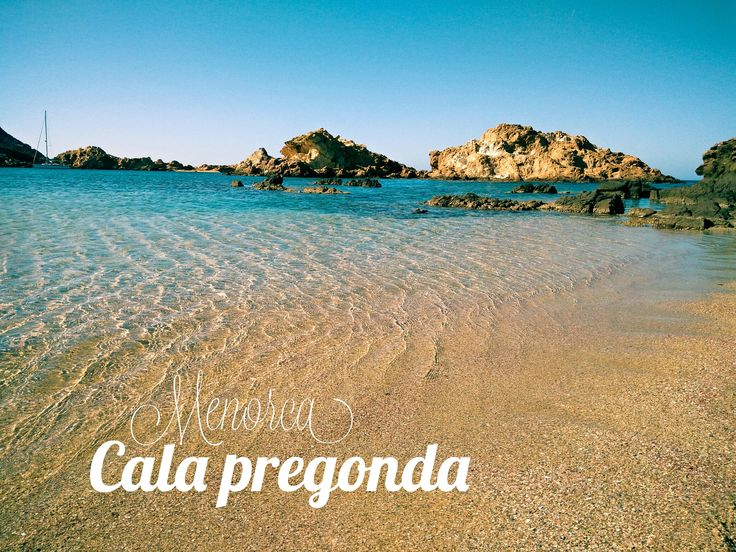 Beautiful #beach Menorca spain #Photography
