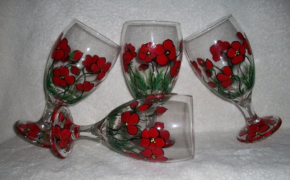 Baby Shoer Wine Glasses Made In Crafting