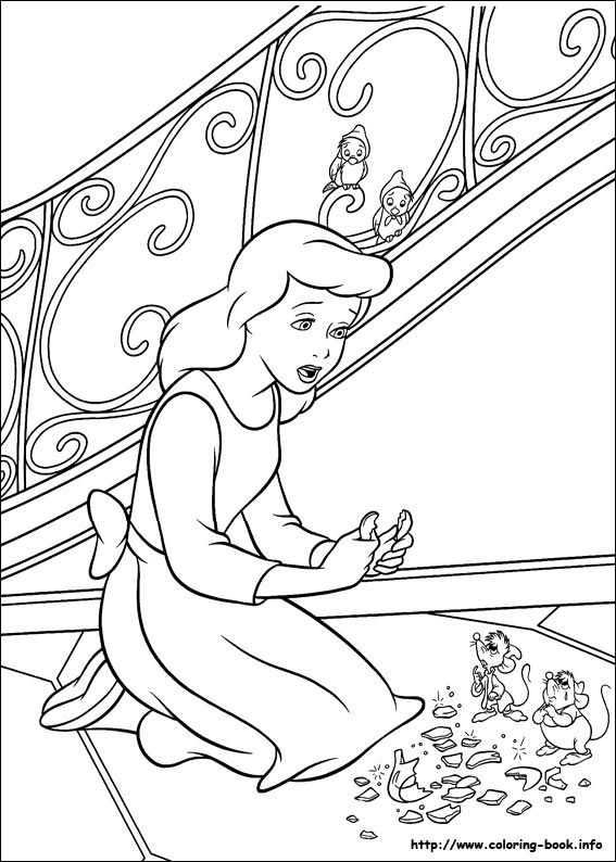 105 Cinderella Printable Coloring Pages For Kids Find On Book Thousands Of