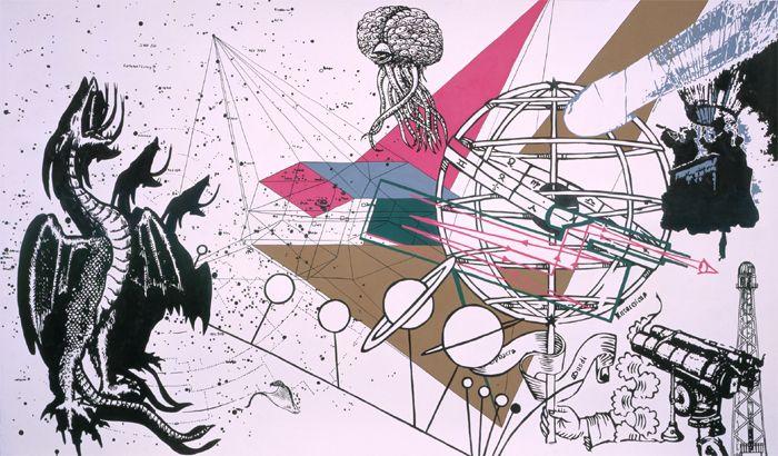 Jesse Bransford / Work: B.Ö.C. Drawings