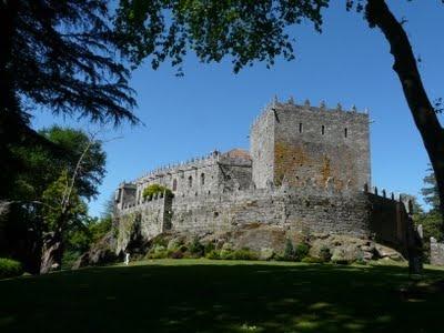 Fotos de Galicia, castillo medieval.