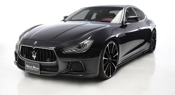 2017 Maserati Ghibli - saw a white one today at the Maserati dealership up the street - I'm drooling.