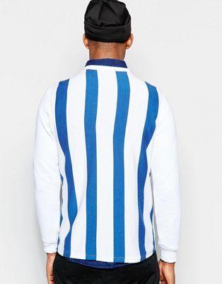 Rascals Long Sleeve T-Shirt With Back Stripe Print