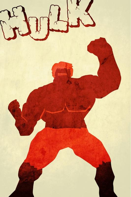 Avengers poster nicholas hyde