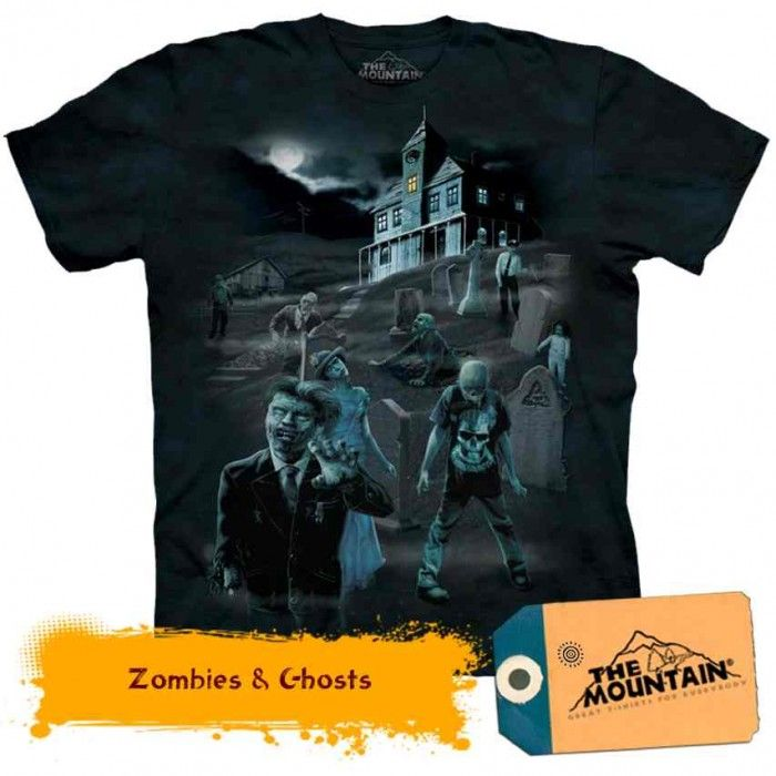 Tricouri The Mountain - Tricou Zombies & Ghosts