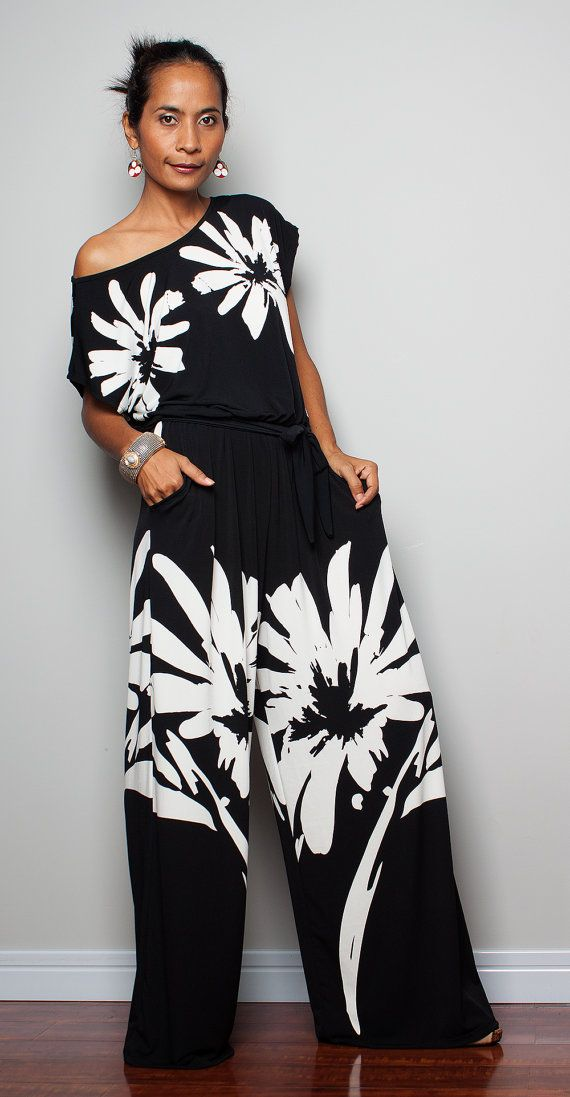 Maxi Jumpsuit  Jumper Maxi Dress   Simply Jumpsuit by Nuichan, $57.00