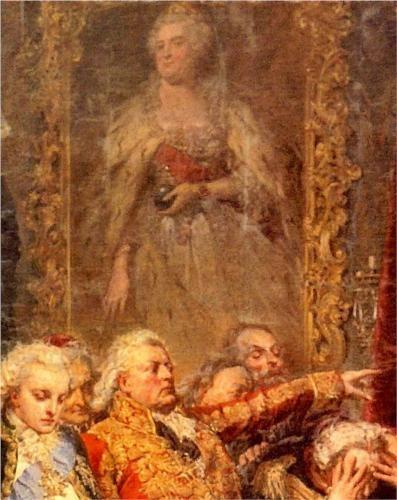 EmpressRejtan - Jan Matejko