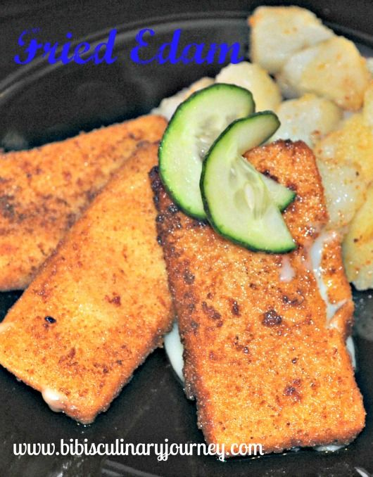 Typical and popular dish in Slovakia is Fried Edam Cheese (Vyprážaný Syr) served with homemade Tartar Sauce. Just be careful this Fried Cheese dish is very addictive.