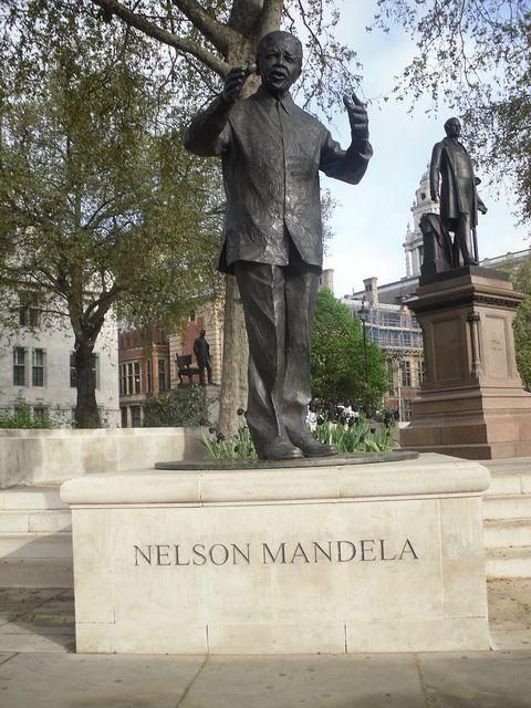 Nelson Mandela by Alex Drennan, via Flickr