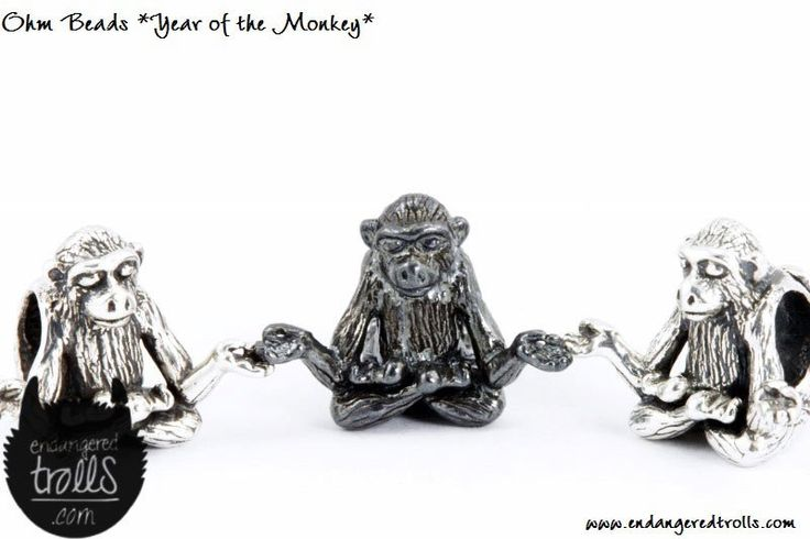 Ohm Beads Year of the Monkey