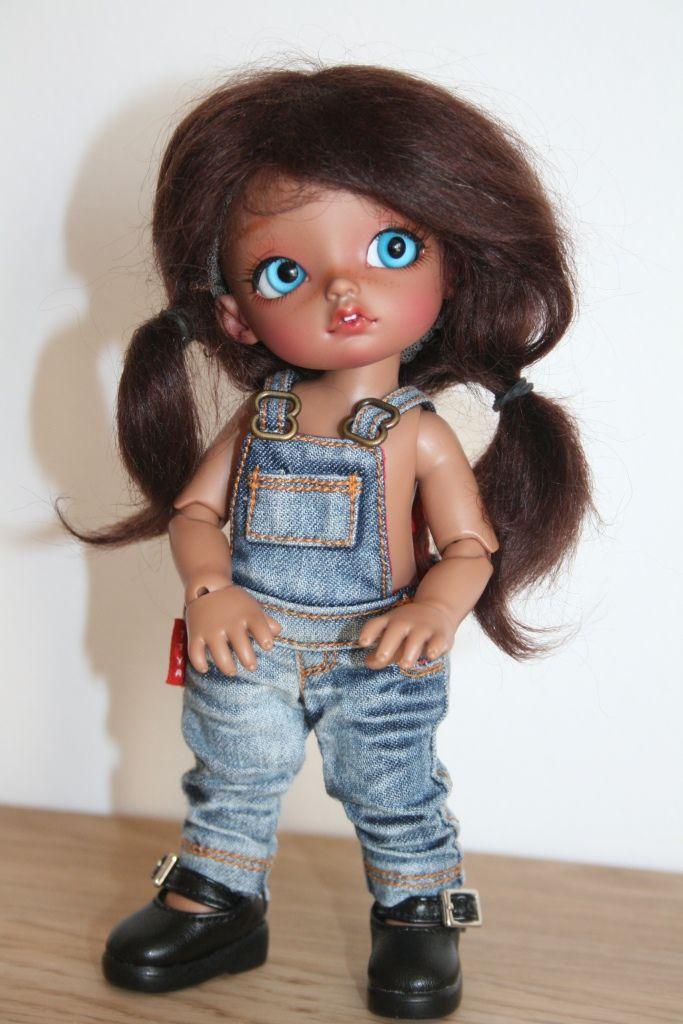 Tiny Remy Tan Yeux Bleus - 16 Cm