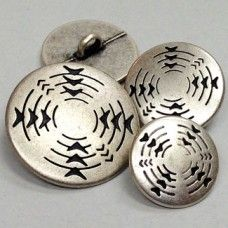 M-1236 - So'western Style Metal Button
