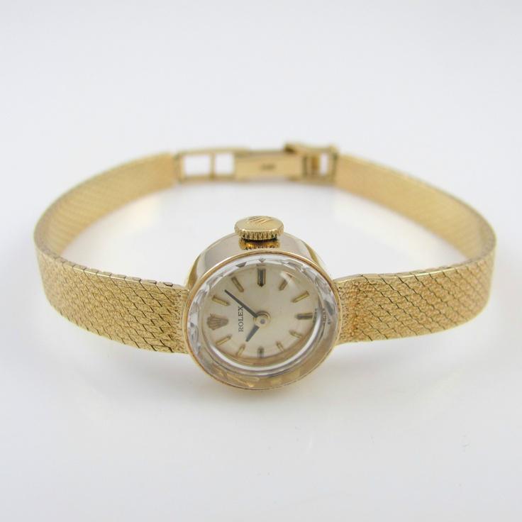 vintage14k gold ROLEX