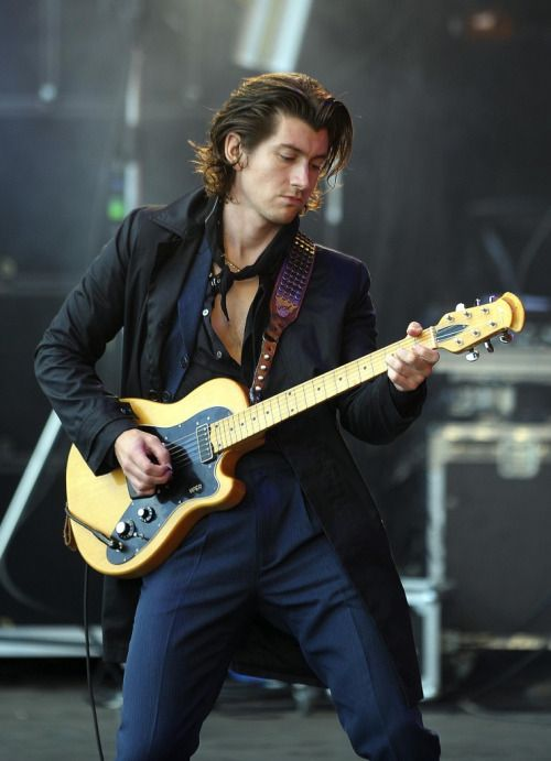 """""""The Last Shadow Puppets - T in the Park 2016 © Andy Buchanan"""