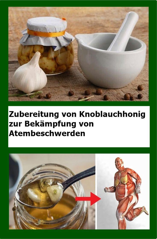 Zubereitung von Knoblauchhonig zur Bekämpfung von Atembeschwerden | njuskam!