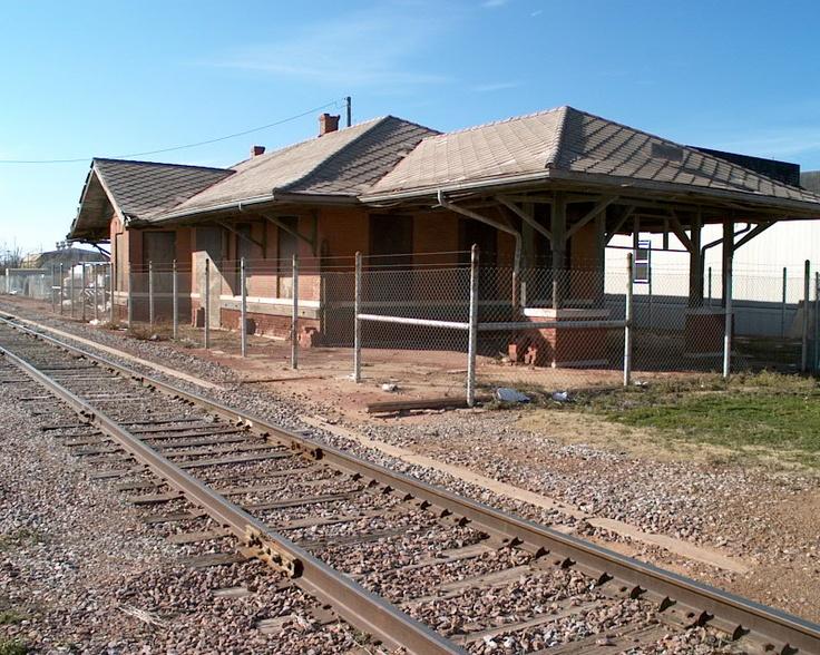 Old train station in Altus Oklahoma