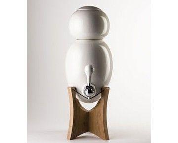 1RDesign : Fontaine a eau filtrante - OVOPUR bois