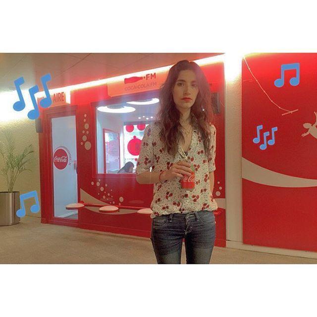 #soysofimayen Hoy viene a @CocaColaFM a platicarles sobre mi nuevo sencillo y a platicarles todo lo que estoy haciendo👌🏻 Feliz inicio de semana!. #sofimayen #SutilEs #Sutil