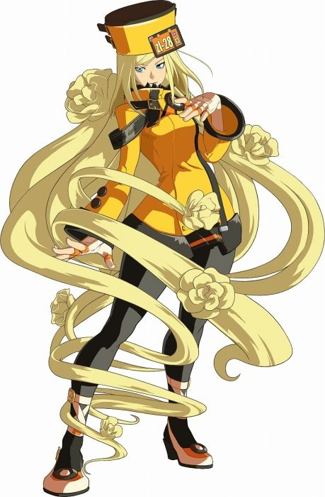 Guilty Gear Xrd Millia Rage Artwork