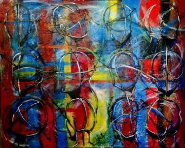"Saatchi Art Artist Lize Du Plessis; Painting, ""Heads Up"" #art"