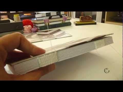 woven spine handmade book - by Luisa Gomes Cardoso - Encadernação Artesanal Tecida - Canteiro de Alfaces