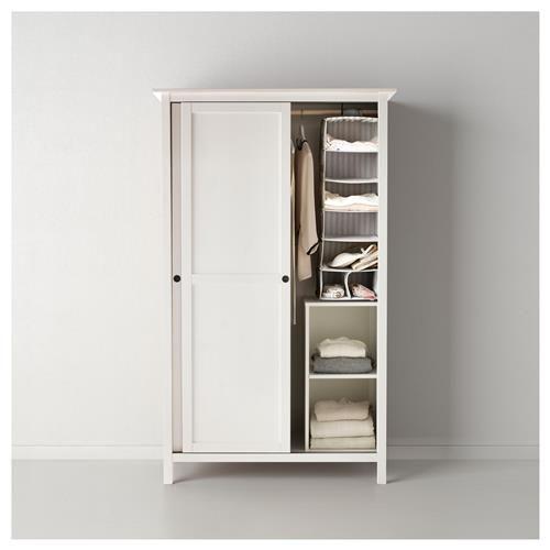 HEMNES Ντουλάπα με 2 συρόμενες πόρτες - IKEA